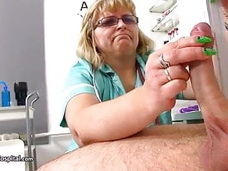 cum extracted by mature nurse anna