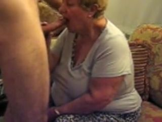 Crazy Homemade record with Grannies, Blowjob scenes