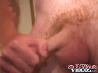 Real outlaw stroking off and jizzing just for you