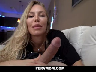 PervMom - brilliant cougar Plays With Her Stepson's enormous boner