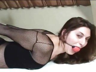 Someone gagged and hogtied me