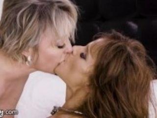 """GIRLSWAY Real Life Lesbian MILF Couple Dee & Syren- We Like Girls"""