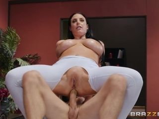 Angela White & Mick Blue in Assential Oil - BRAZZERS