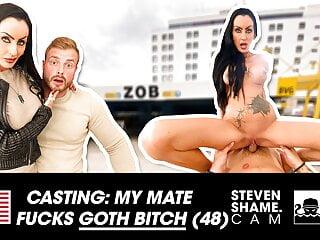 Gothic Sidney Dark enjoys a young dick! StevenShame.dating