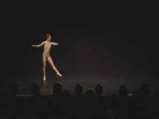Japanese undecorated Ballet Dancer Onstage only