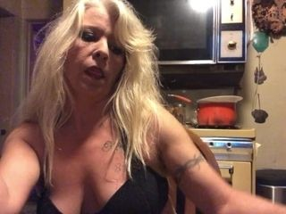 Wild cougar dances, flashes off, and smokes for you. Want some?