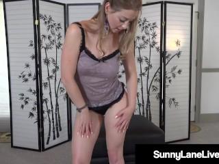 Hot Little Pornstar Sunny Lane Masturbates Her Tight Tingling Twat! 20::MILF,25::Masturbation,26::Blonde,38::HD