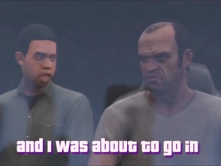 GTA 5 Franklin Fucks Chop!