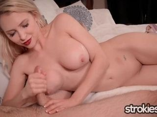 STROKIES Alix Lynx Hot Dirty Talking POV Handjob|1::Big Tits,12::Cumshot,16::Mature,20::MILF,26::Blonde,30::POV,38::HD
