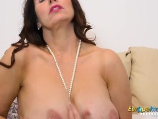 EuropeMaturE Busty Mature Pussy Drill Compilation