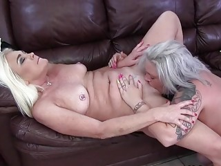 A HOT Blonde MILF That Loves Her Pussy Licked