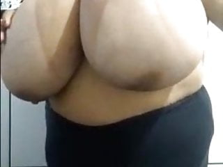 Fat Huge Breasts Lady