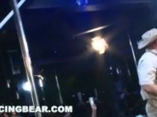 """DANCING BEAR - Male Strippers Sling Dick For Horny Ladies At Wild CFNM Party"""