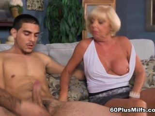Scarlet And The Happy Cuckold - Scarlet Andrews, James Kickstand, And Jim - 60PlusMilfs