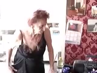 Horny Amateur movie with POV, Grannies scenes