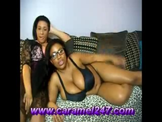 Giant hooters Heaven! Caramel kitty And MaseratiXXX Together! Wow!