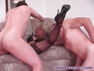 Cuckolds wifey ravaged by fat pink cigar homies Sissy abjected