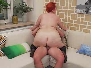 Big booty mom seduce lucky son