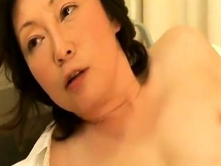 Japanese shy MILF blowjob audition