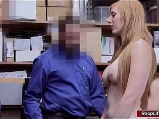 Cougar shoplifter caught and smashed