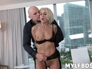 Lusty mommy enjoys being dominated and fucked balls deep