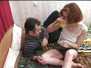 Gangbang with her husband's friends