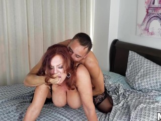 Older Lady Likes To Take Advantage Of Young Guy