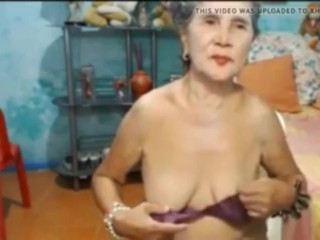 Phillipinegranny first of all cam in the same manner the brush saggy bowels.