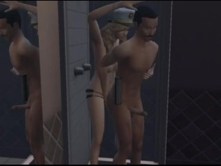 Sims 4: prankish for establishment Holly arse Fucks bondman 2