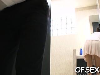 Magical Satsuki Kirioka idolizes being torn up