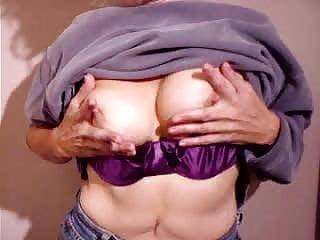 Cheryl Rubbing her tits