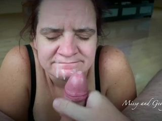 """""""2019 NEW FACIAL COMPILATION - MISSY AND GEORGE 34 CUMSHOTS"""""""
