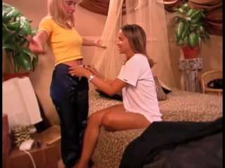 Mature MILF Has Lesbian Fun With A Young Pregnant Girl