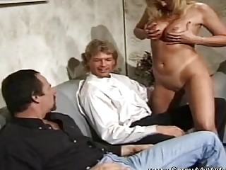 A Session To Arouse Two Men
