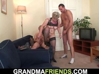'Hot Mature Woman Warms Up Before Ffm Threesome'