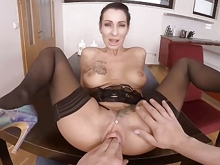 tattooed stepmom rough pov anal fist fucked