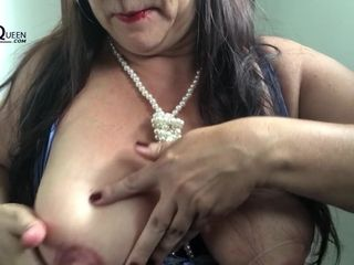 Milky mommy with 44