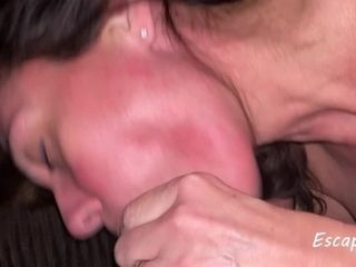 'MILF Squirts Everywhere and Gets a Mouthful of Cum'