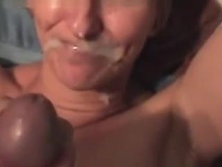My Cock Facializing Moms