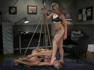Helena Likes To See Her Lovers Subjugated, Bound And Lying At Her Feet