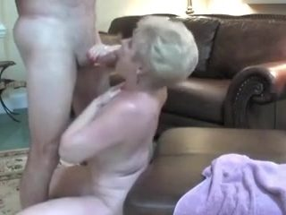Aged granny can't live without cum compilation