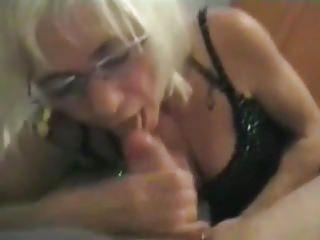 Italian Granny CockSucker