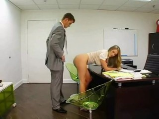 Large titted assistant wants to get plowed by her manager