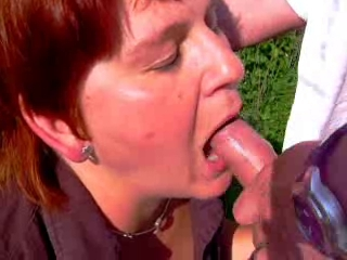 Videos of mature tramp getting her face covered in jizz