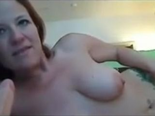 Annabelle flowers bringing off on touching dildo .
