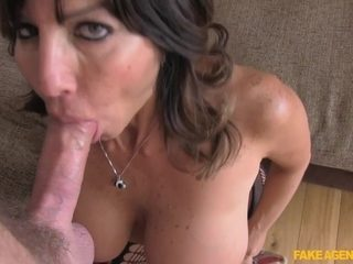 Tara in Office sex and anal action for hot Chilean MILF - FakeAgentUk