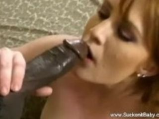 """Interracial MILF Time Blowjob"""
