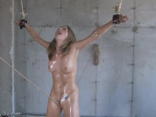 Cumming on my Crotch Rope - Star Nine Rope Bound Orgasms FULL VERSION