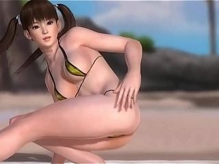 Toon glorious humungous melons supersluts Dancing in Beach