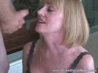 """""""Granny Dildo And Blowjob Action Satisfies His Cock"""""""